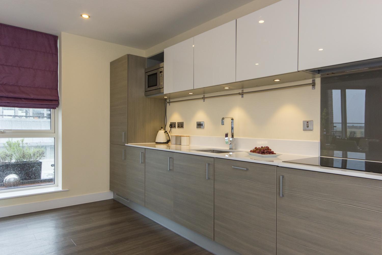 Citystay Serviced Apartment Kitchen