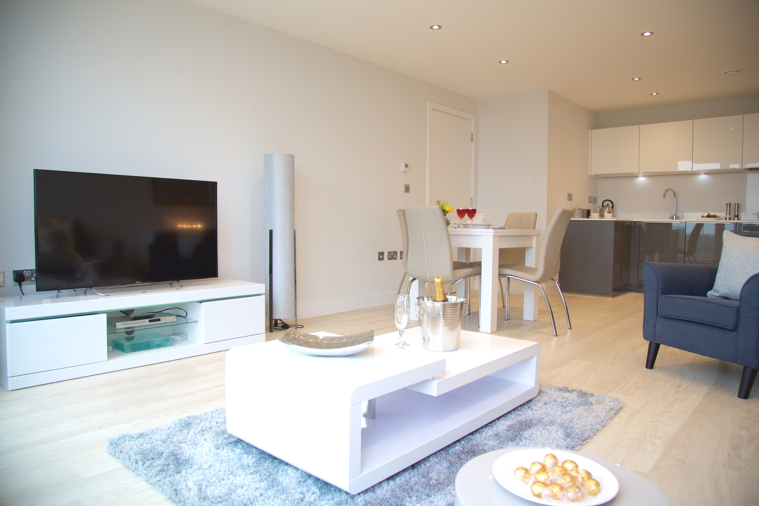 Three Bedroom Serviced Apartment