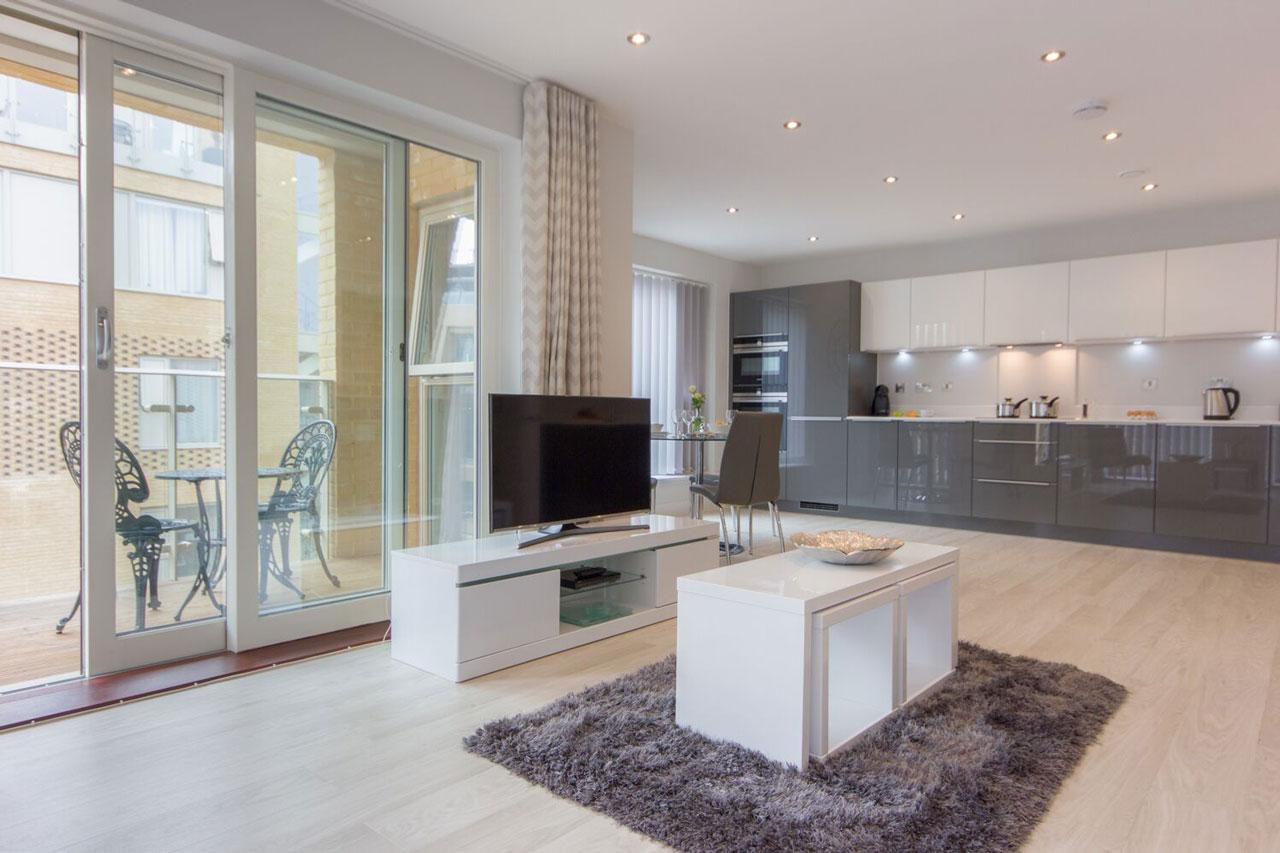 Lounge Area Vesta Apartments