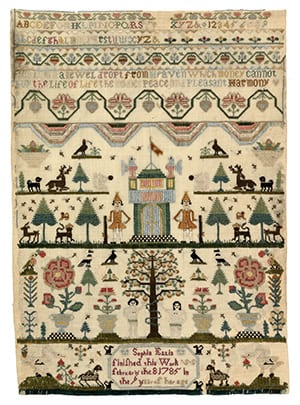 Tapestry of ancient Cambridge