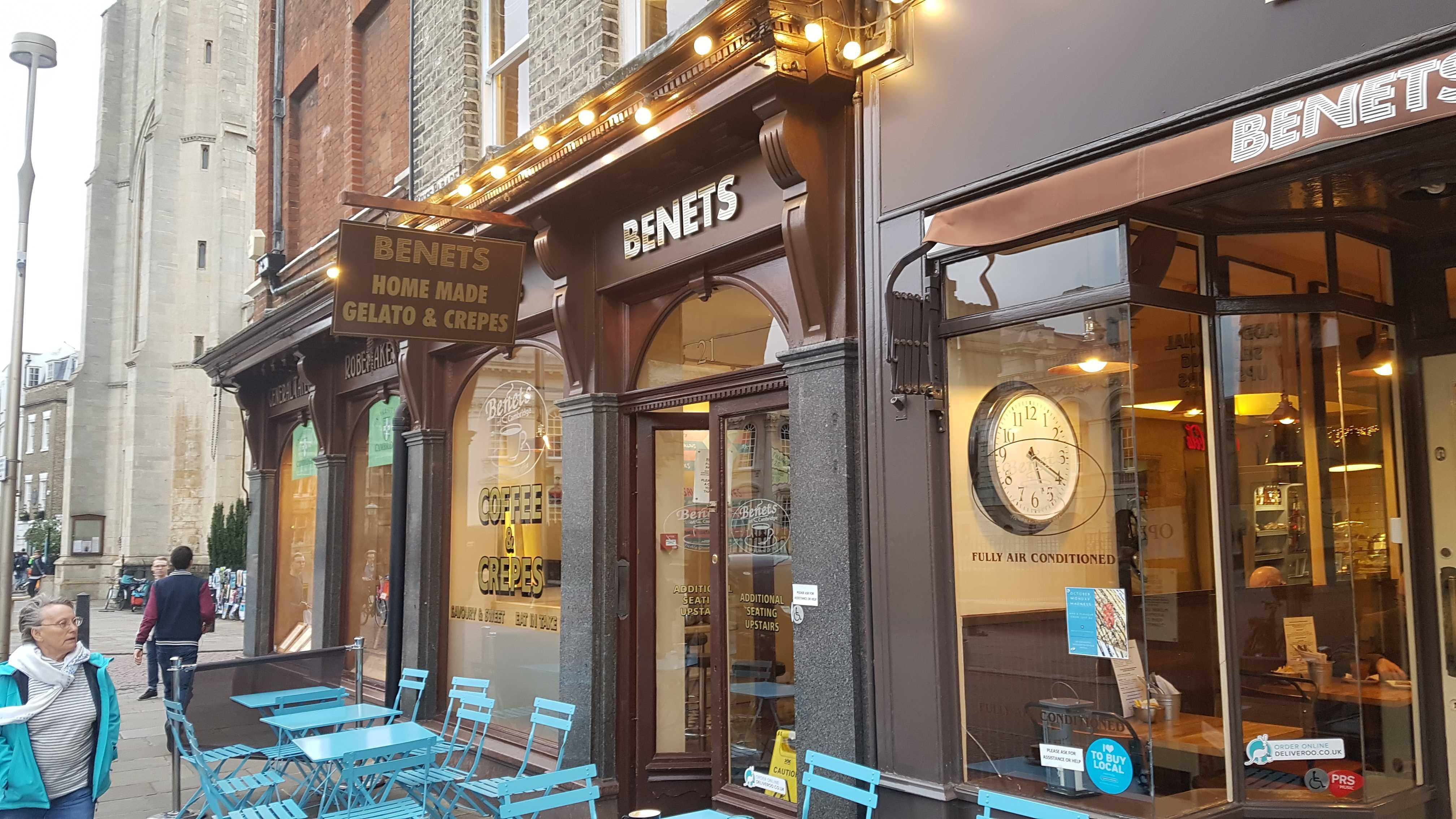 Benets Cafe Cambridge