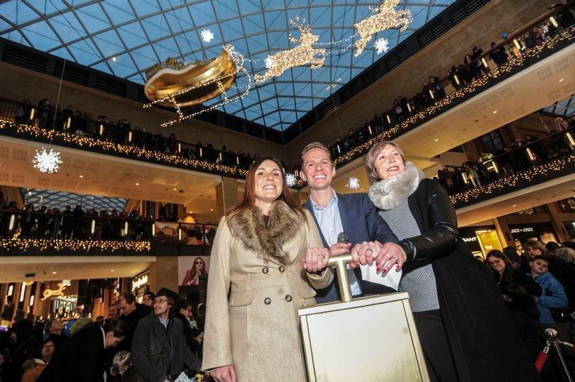 Cambridge Grand Arcade Christmas
