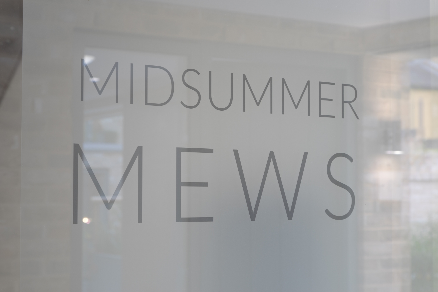 Property In Focus – Midsummer Mews