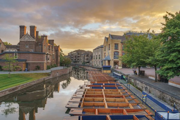 Punting from Quayside Cambridge